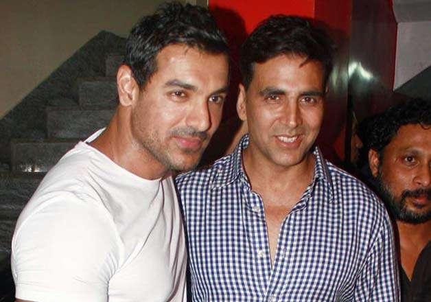 John Abraham with Akshay Kumar