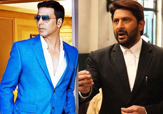 Akshay Kumar and Arshad Warsi in Jolly LLB