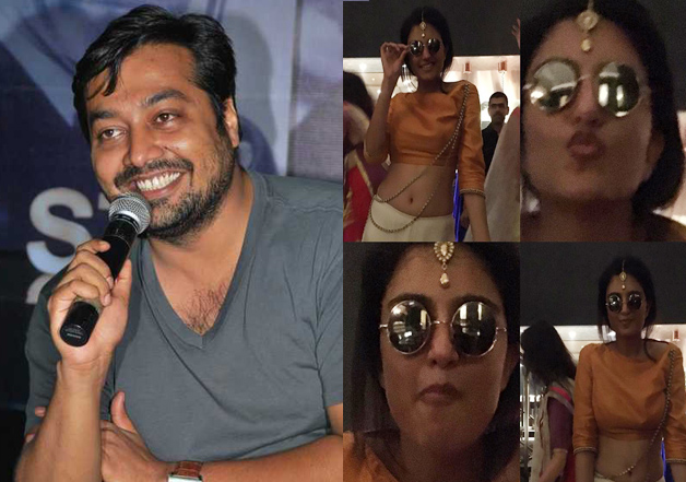 Anurag Kashyap lands a kiss on his 'rumoured'