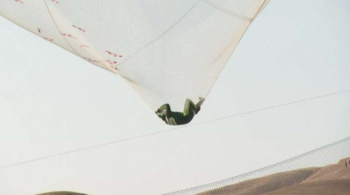 India Tv - Luke Aikins makes history by jumping from 25,000 feet without chute