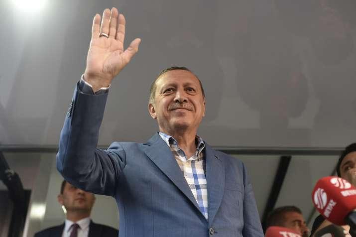 Turkish President Recep Tayyip Erdogan in Istanbul on July