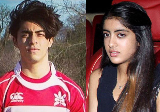 Aryan Khan And Navya See Pics: Star kids Ar...