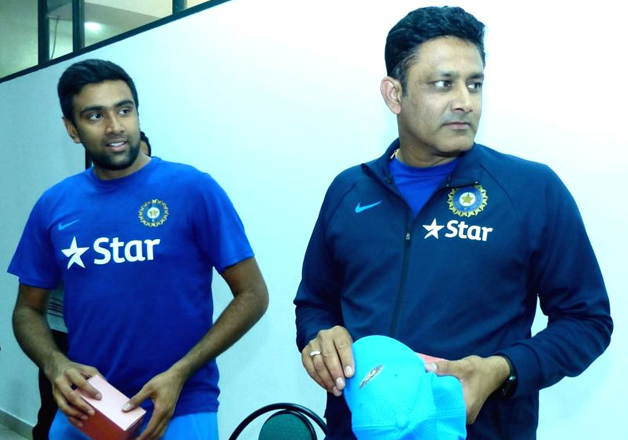 R Ashwin praises new coach Anil Kumble
