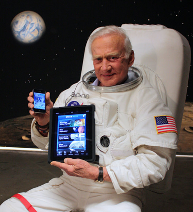 a study of aldrin Moon walker buzz aldrin and three other astronauts have passed lie detector edgar mitchell and gordon cooper all took part in the study getty/granger/rex.