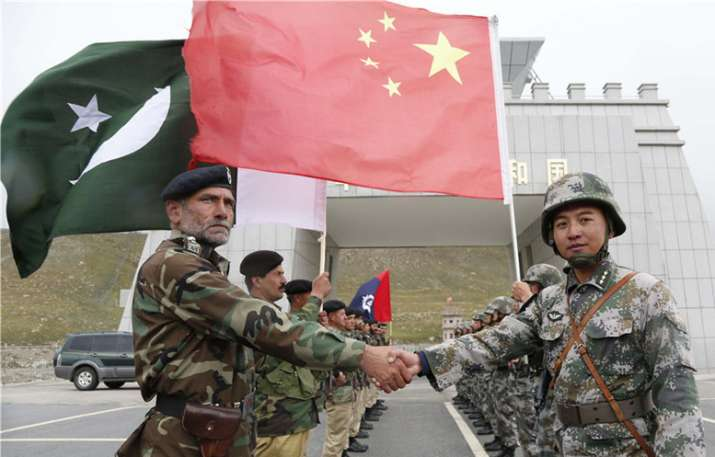 Border troops of China and Pakistan have launched joint