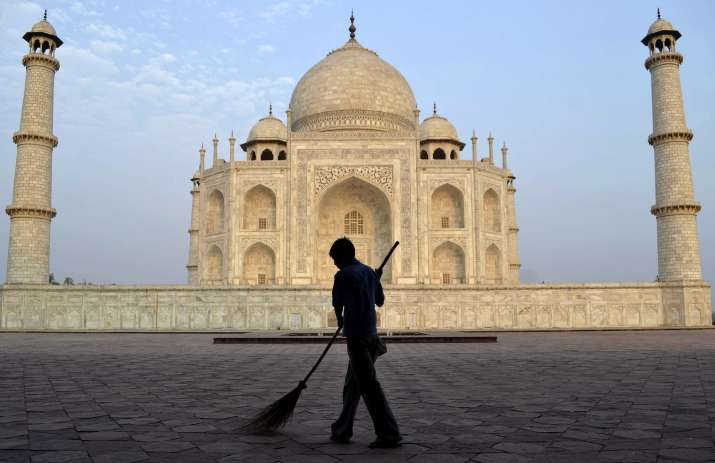 Image result for cleaning the mahal