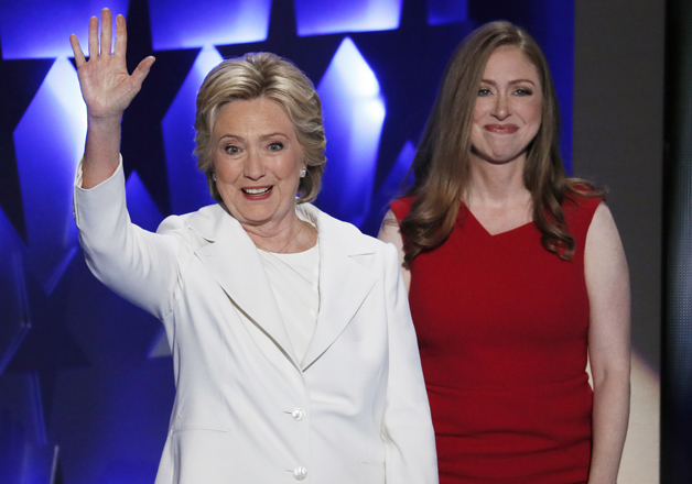 India Tv - Hillary Clinton and Chelsea Clinton