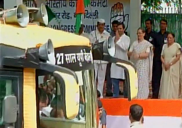 Congress sounds poll bugle in Uttar Pradesh