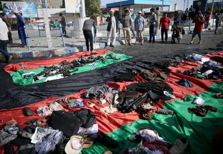 80 people died in as many as three suicide bombings in Kabul