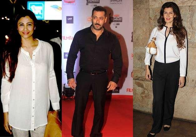 Daisy Shah, Salman Khan, Sangeeta Bijlani