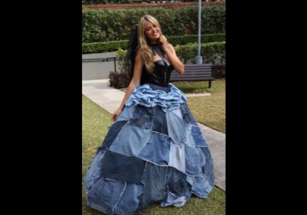 65a2eae3f91 Denim Gowns Denim Gowns. New Delhi  Denims are certainly the most fussfree  dressing option for casual events but what if you get an option to try out  ...