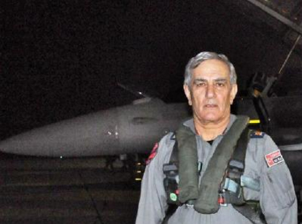 Former Turkish air force chief Akin Oztur