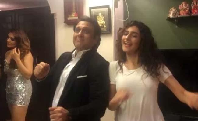 Govinda dancing on his 90's hit song