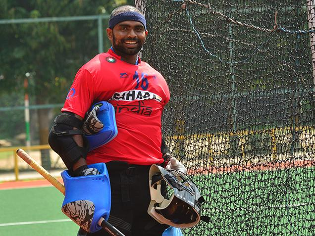 Indian Hockey captain PR Sreejesh