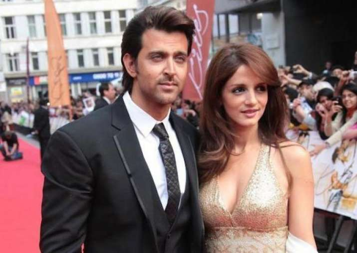 Hrithik Roshan with Sussanne