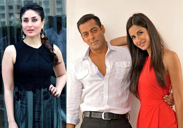 Kareena Kapoor, Salman Khan with Katrina Kaif