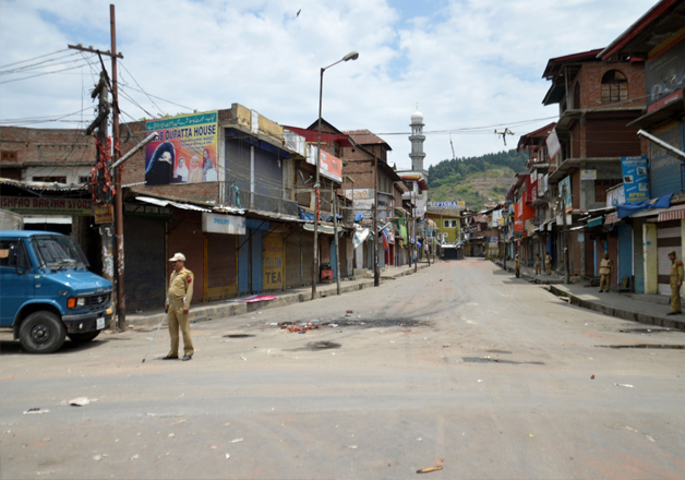 Kashmir remains under strict curfew
