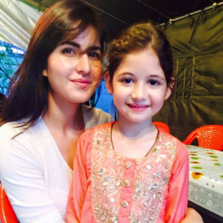 Katrina Kaif with Harshaali Malhotra