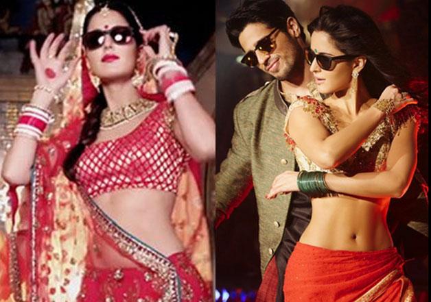 Katrina's body in 'Kala Chashma'