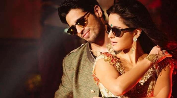Sidharth Malhotra with Katrina Kaif