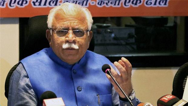 Haryana CM ML Khattar