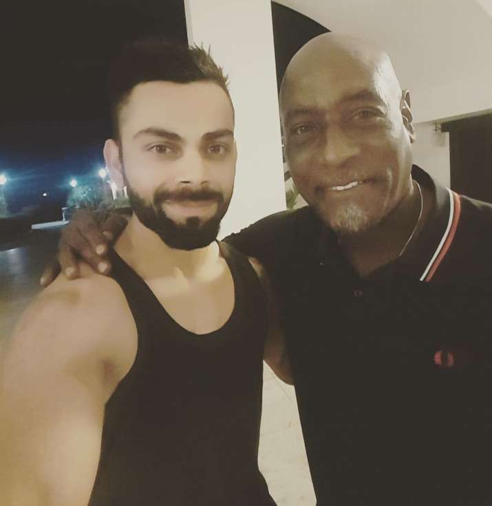 When Kohli and Co. got a surprise visit from Viv Richards