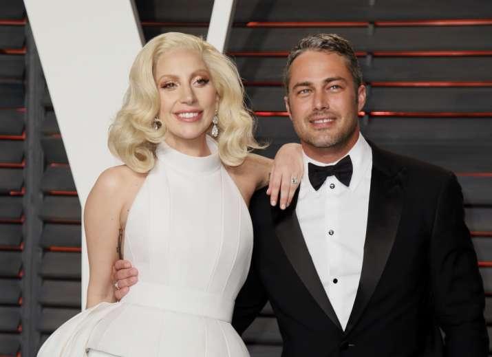 Lady Gaga with Taylor Kinney