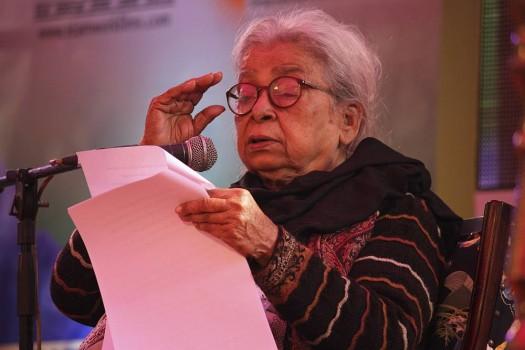 Eminent litterateur and social activist Mahasweta Devi