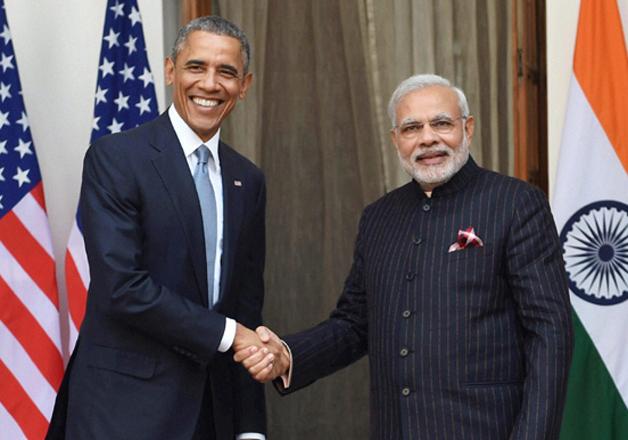 Barack Obama and Narendra Modi