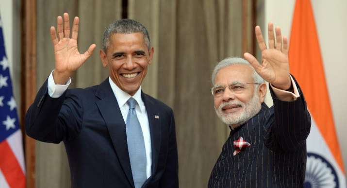 PM Modi with US President Barack Obama