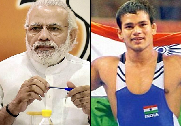 PM Modi and Narsingh Yadav