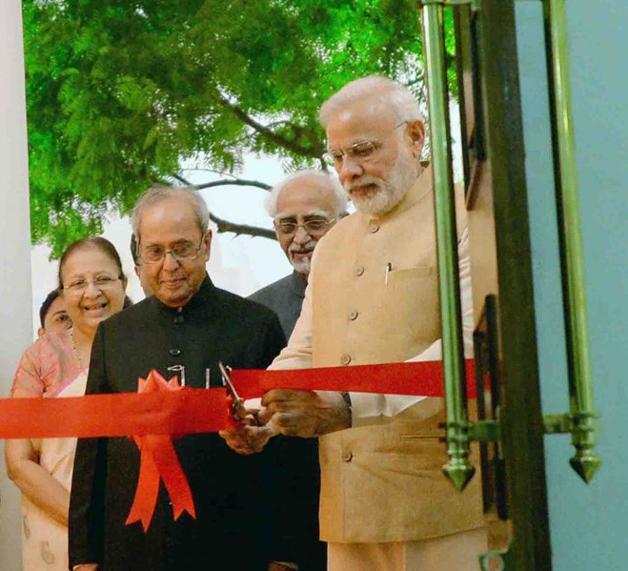 PM Modi with President