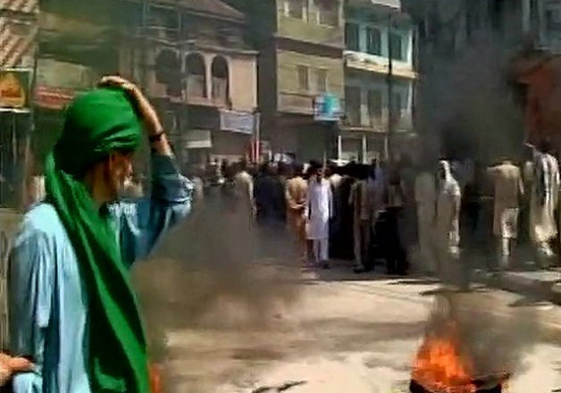 Locals burn Pakistan's flag as protests escalate against