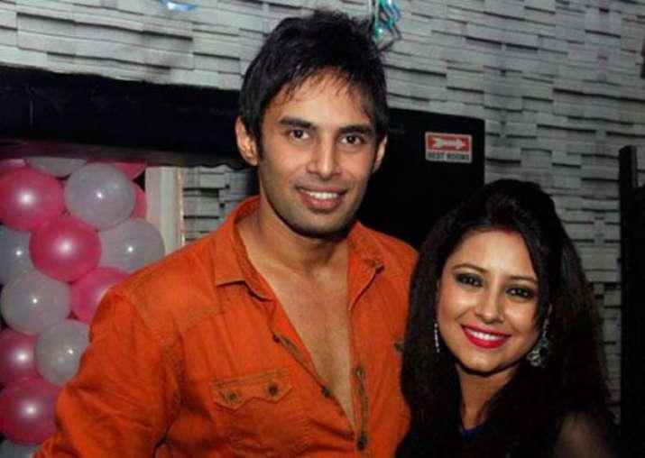 Rahul Raj Singh with Pratyusha Banerjee
