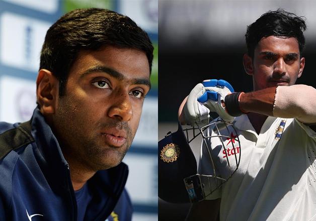 R Ashwin and KL Rahul