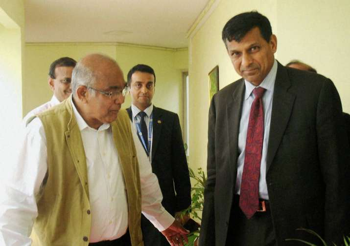 Outgoing Reserve Bank of India Governor Raghuram Rajan