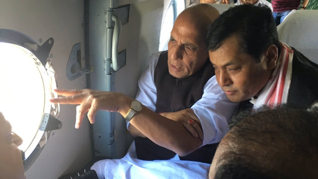 India Tv - Rajnath Singh in Assam