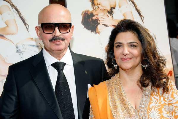 India Tv - Rakesh Roshan and Pinki Roshan