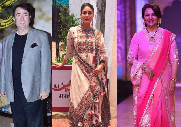 Soon-to-be grandparents Randhir Kapoor and Sharmila Tagore