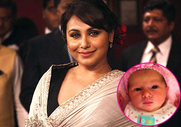 rani mukherjee baby photos