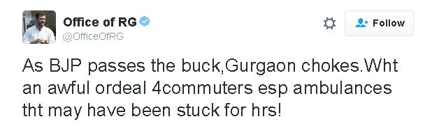 India Tv - Rahul Gandhi tweet
