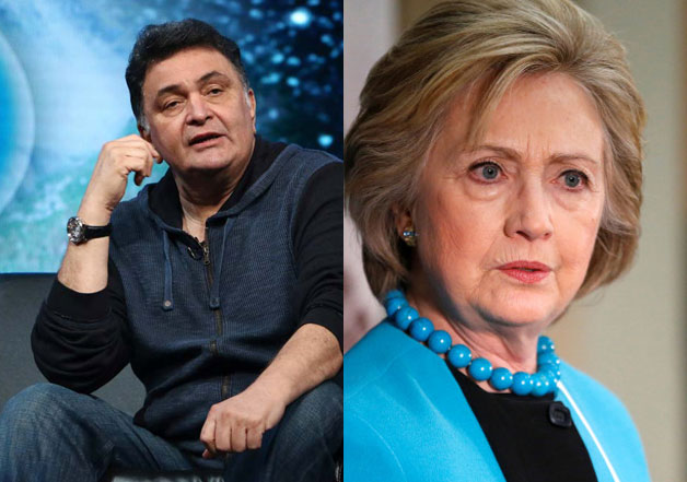 Rishi Kapoor's tweet on Hillary Clinton stirs controversy