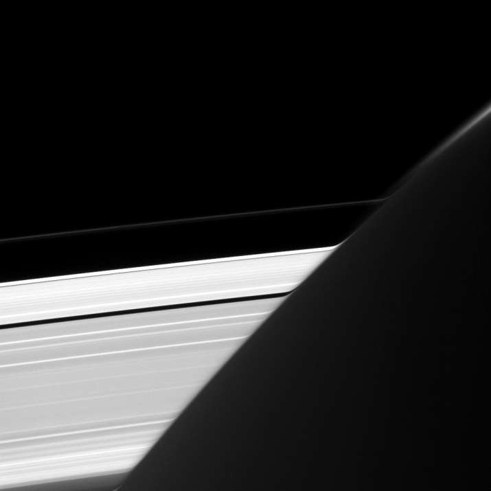 Are Saturn's rings 'bending' or is it just an optical