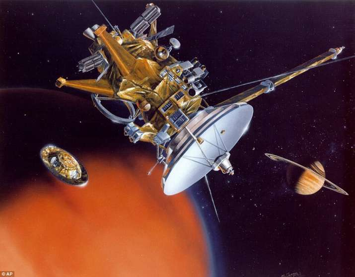 India Tv - Cassini spacecraft