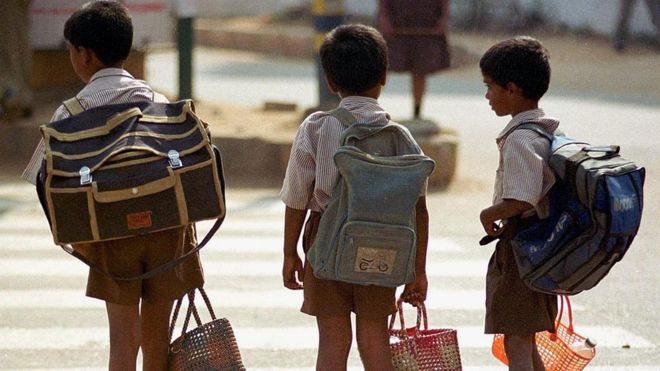Sharp rise in school attendance as kids go 'bagless' in