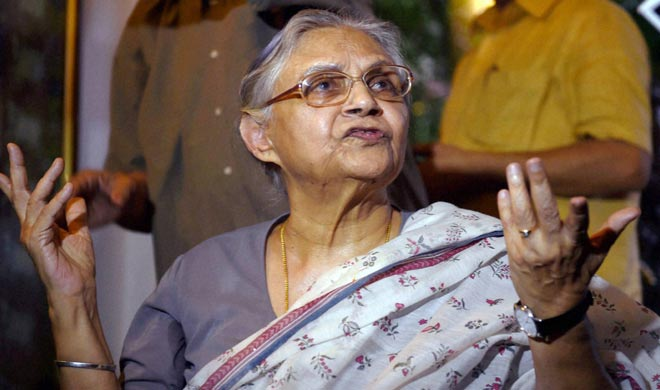 ACB gives questionnaire to Sheila Dikshit in multi-crore