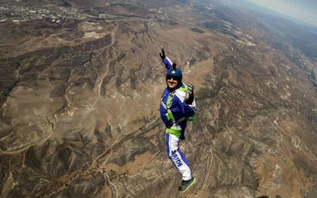 Skydiver Luke Aikins