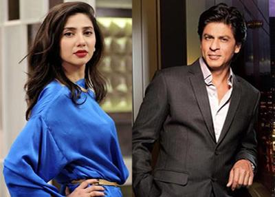 On seeing Shah Rukh Khan, Mahira forgot her lines