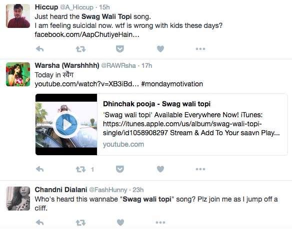 India Tv - People reacting to Dhinchak Pooja