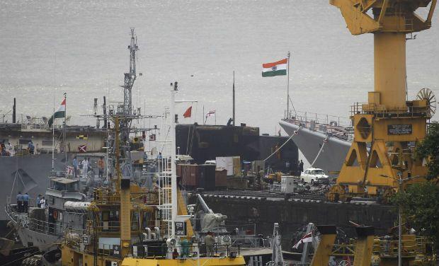 Mumbai Naval dockyard